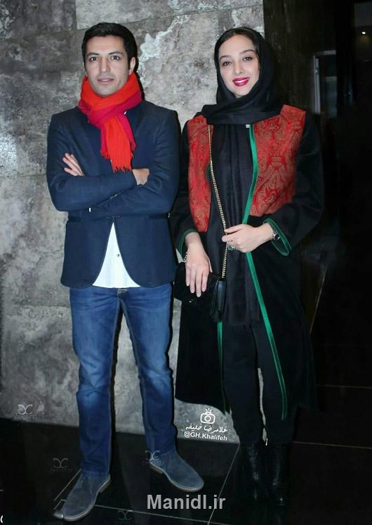 اشکان خطیبی و همسرش آناهیتا درگاهی در اکران فیلم وارونگی