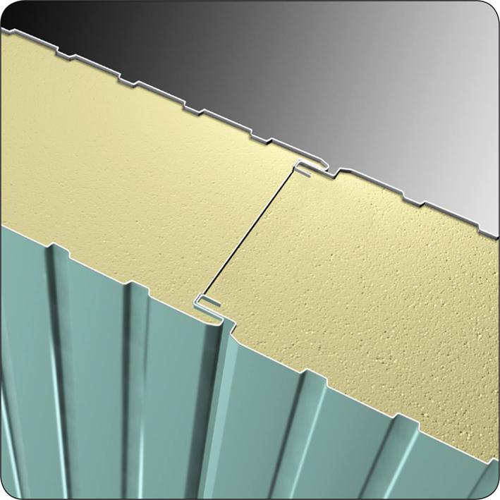برچسب پوشش سقف با ساندویچ پانل - گروه فنی ، مهندسی نارین نگاره