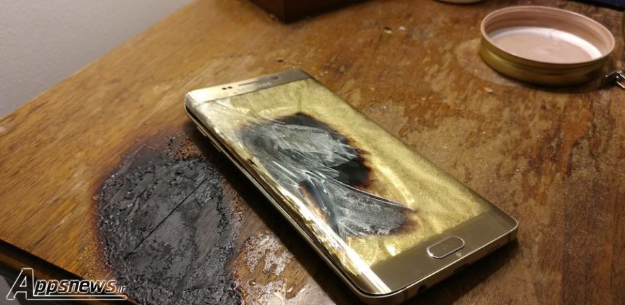 سامسونگ گلکسی S6 اج هم منفجر شد!
