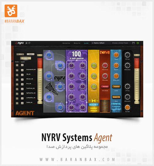 دانلود مجموعه پلاگین میکس و مسترینگ NYRV Systems Agent