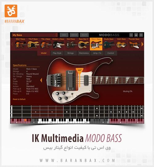 دانلود وی اس تی گیتار بیس IK Multimedia MODO BASS