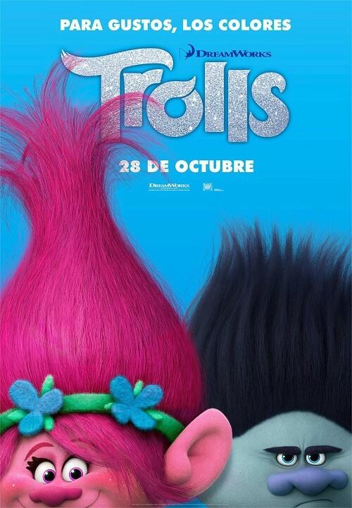 دانلود دوبله فارسی انیمیشن ترول ها 2016 Trolls