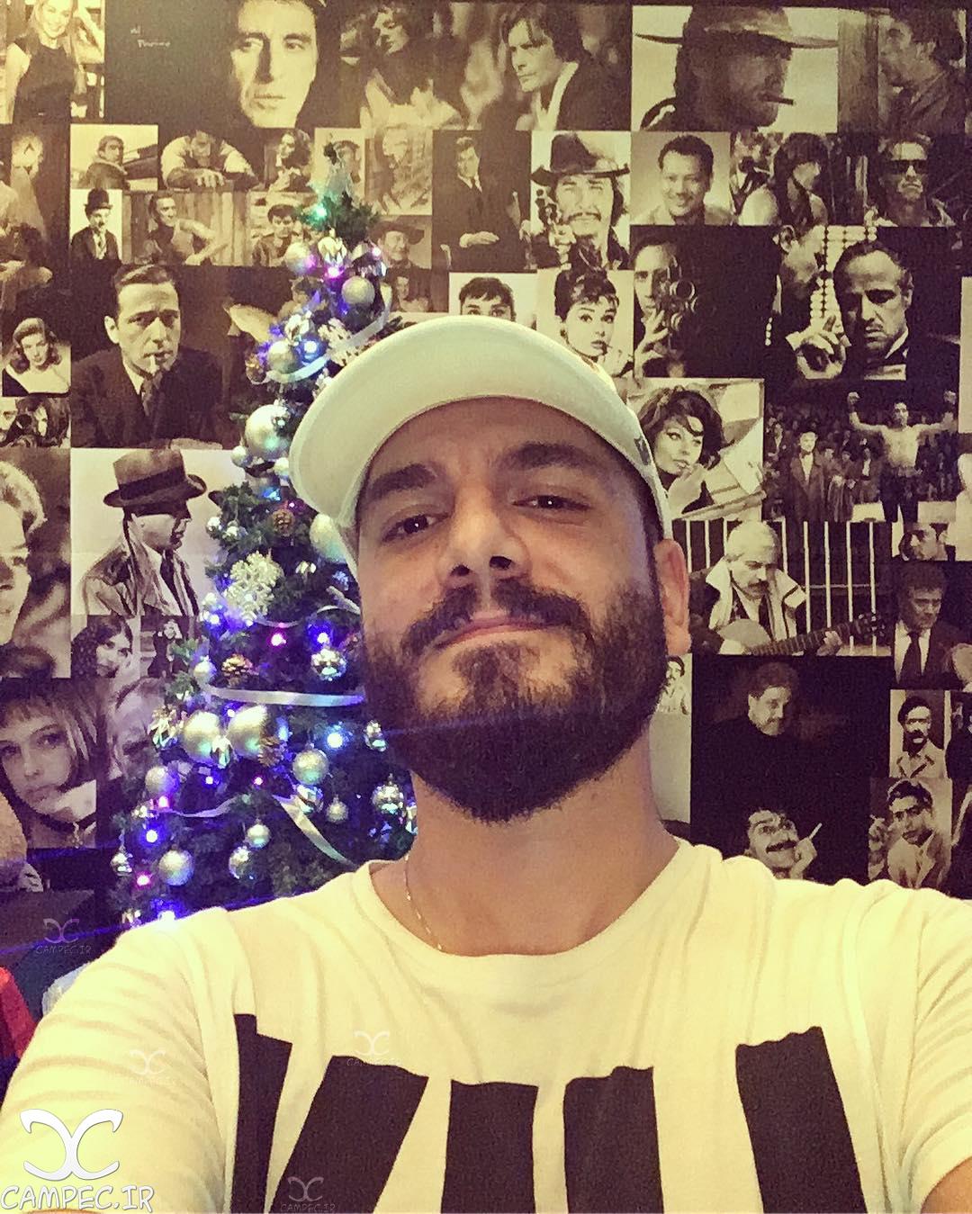 عباس غزالی در کریسمس 2017