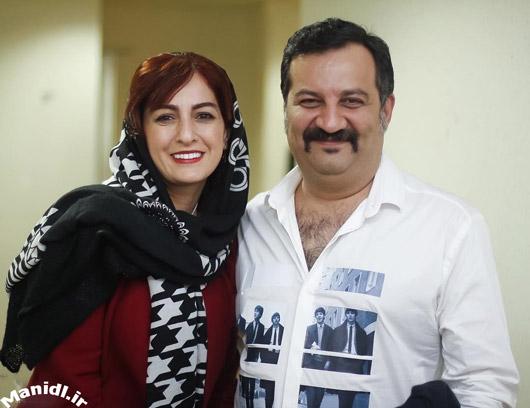 عکس شقایق دهقان و همسرش محراب قاسم خانی