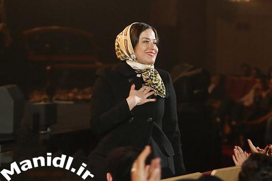 عکس مهراوه شریفی نیا در کنسرت رستاک حلاج