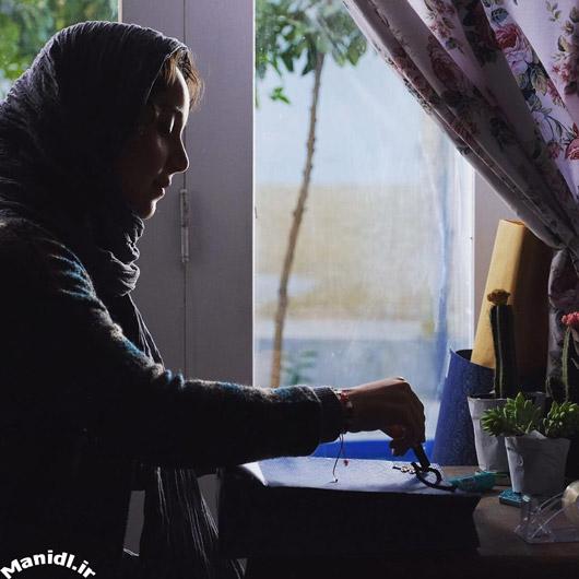 عکس نازنین بیاتی در نمایی از فیلم مادری