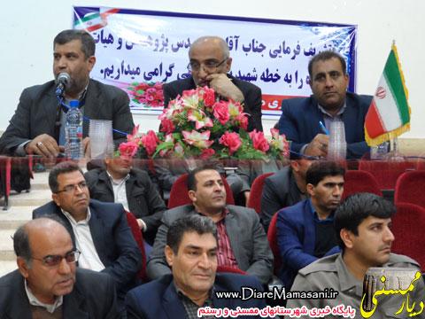 نشست پرسش و پاسخ معاون سیاسی امنیتی استانداری فارس در نورآباد