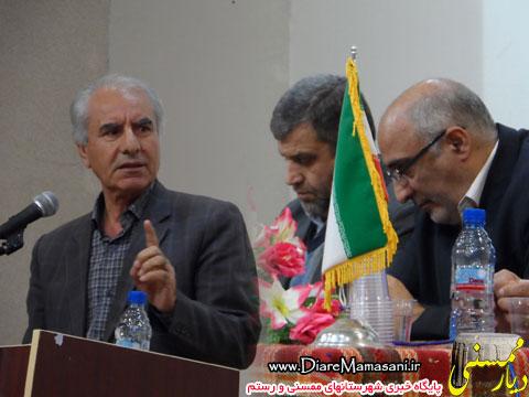 علی احمدی عضو سابق شورای شهر نورآباد