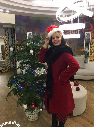سپیده خداوردی در کریسمس 2017