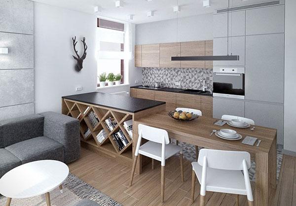 کابینت آشپزخانه،55 ایده برای آشپزخانه کوچک