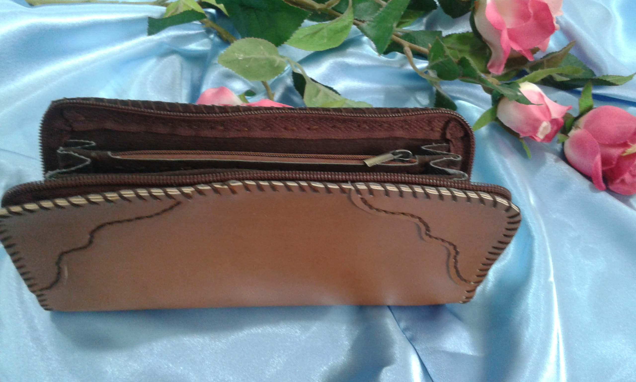 کیف پولی زنانه زیپ دار (110)
