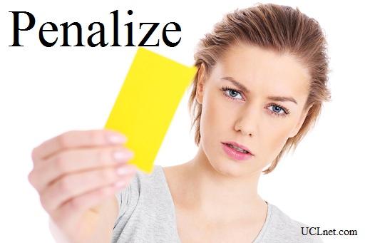 Penalize - آموزش لغات کتاب ۵٠۴ – English Vocabulary – کدینگ لغات ۵٠۴
