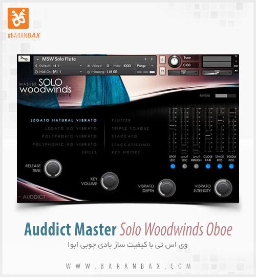 دانلود وی اس تی ابوا Auddict Master Solo Woodwinds Oboe