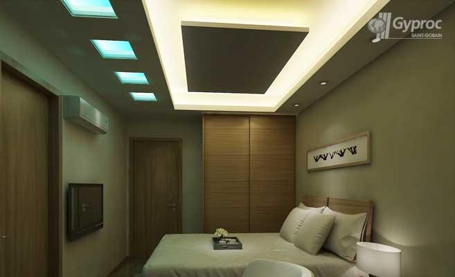 طرح کناف برای اتاق خواب