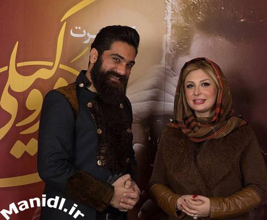 عکس نیوشا ضیغمی و علی زندوکیلی