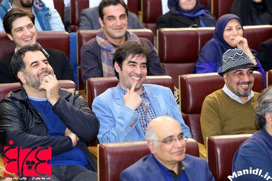 عکس رضا عطاران و شهاب حسینی