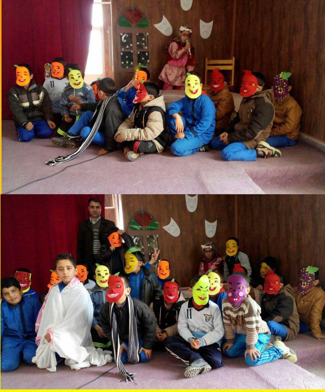 جشن یلدا همراه با نمایش کتابخانه عمومی شمس سجاسی