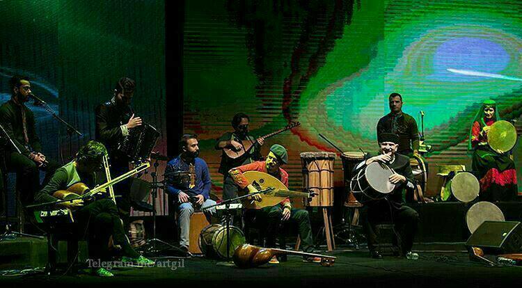 کنسرت گروه رستاک در رشت برگزار می شود