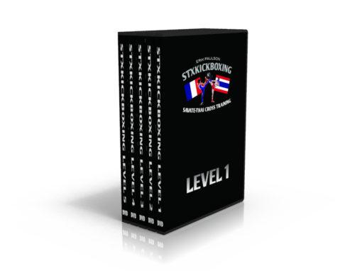 دانلود بسته اموزشی کیک بوکسینگ | Erik Paulson STX Kickboxing Level 1-5