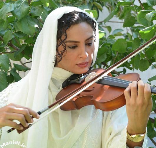 عکس حدیثه تهرانی در نمایی از فیلم سکوت