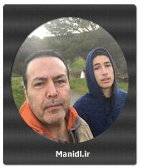 عکسهای سلفی فریبرز عرب نیا با پسرش جانیار
