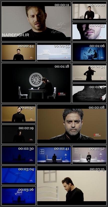 دانلود موزیک ویدیو یه ساعت فکر راحت از بابک جهانبخش با کیفیت HD1080P