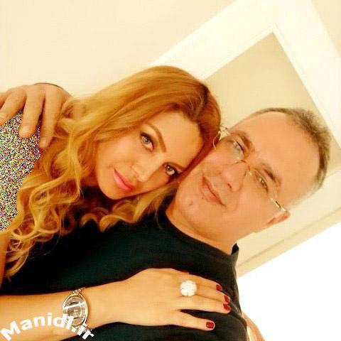 عکس جدید آوا بهرام (خواننده) و همسرش