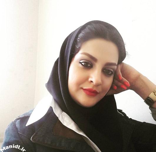 عکس شخصی لیلا ایرانی بازیگر دورهمی