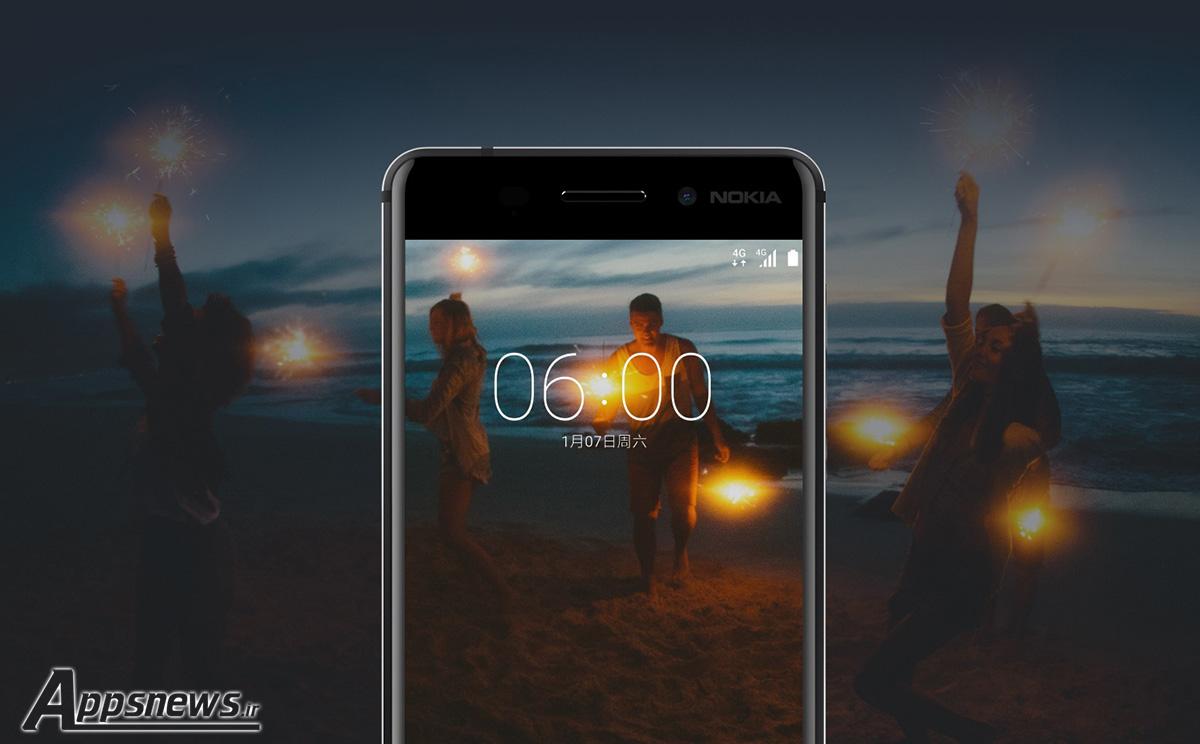 گوشی هوشمند 6 Nokia با اندروید 7 نوقا معرفی شد