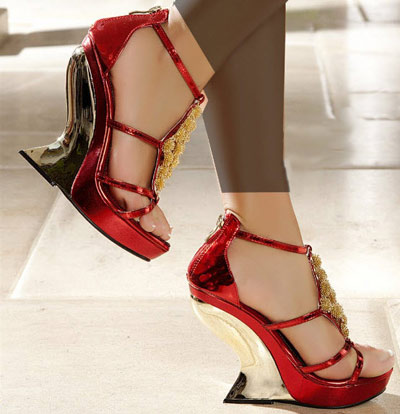 مدل کفش پاشنه بلند دخترانه سری 9