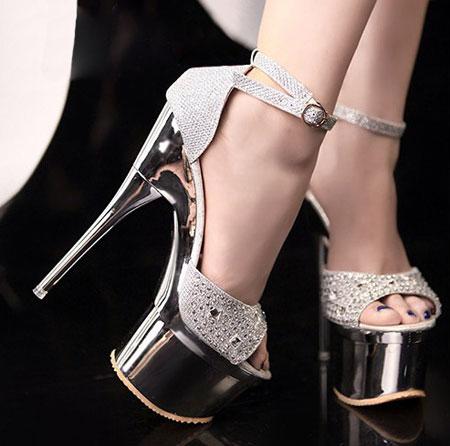 مدل کفش پاشنه بلند دخترانه سری 20