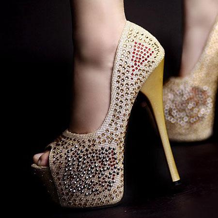 مدل کفش پاشنه بلند دخترانه سری 21
