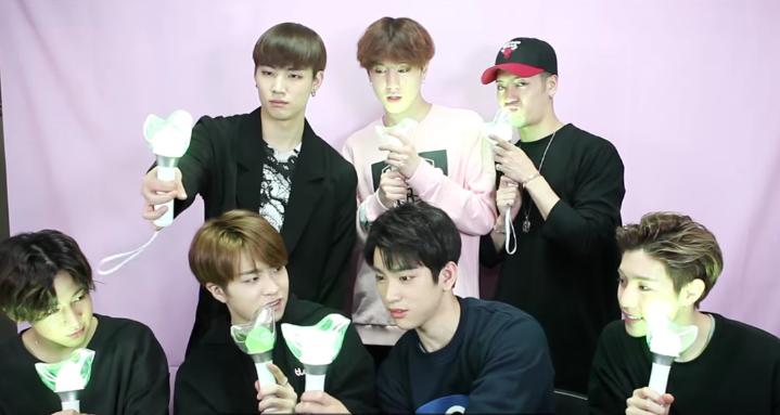 GOT7 Official Light Stick Video