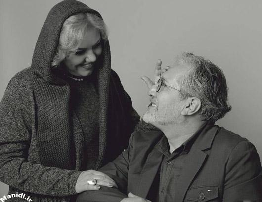 عکس افسانه چهره آزاد و همسرش شاهرخ فروتنیان