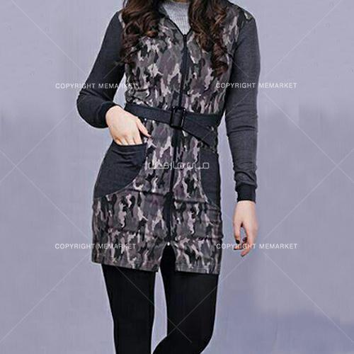 فروشگاه خرید مانتو زنانه دخترانه چریکی با طراحی مقاوم و شیک