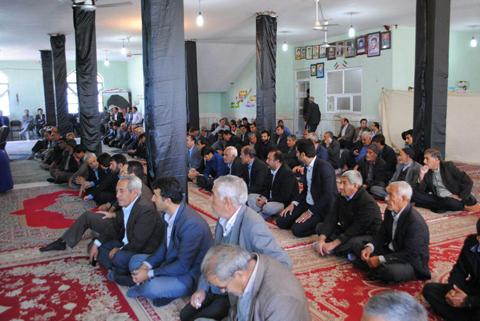 مراسم ترحیم آیت الله هاشمی رفسنجانی؛ در شهرستان رستم