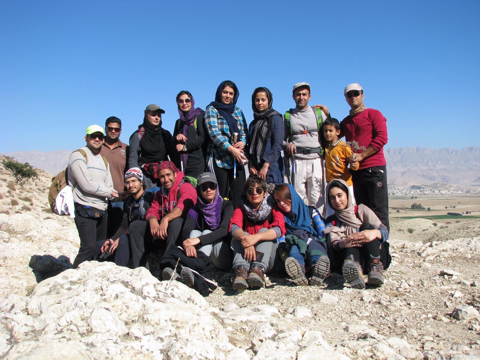 برنامه نیم روزه صعود به ارتفاعات دره سنجد