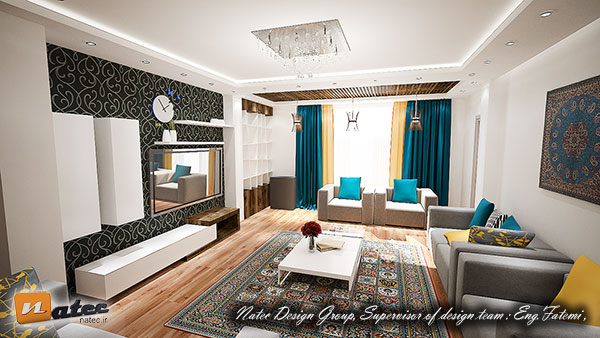 طراحی دکوراسیون داخلی منزل اصفهان