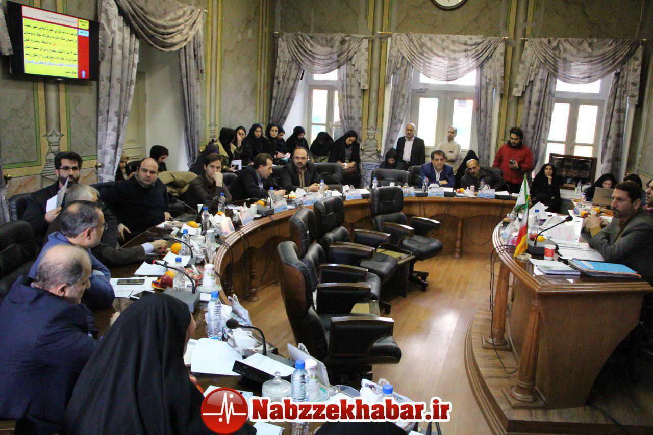 یکصد و هفتاد و دومین جلسه علنی شورای اسلامی رشت