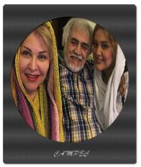 عکسهای اکرم محمدی با همسرش مجید جعفری و دخترش