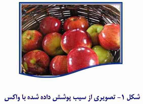 بهبود ظاهر میوه در اثر پوشش دهی