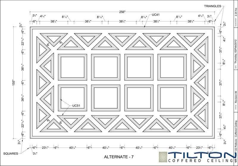 نقشه مناف سقف کلاسیک2