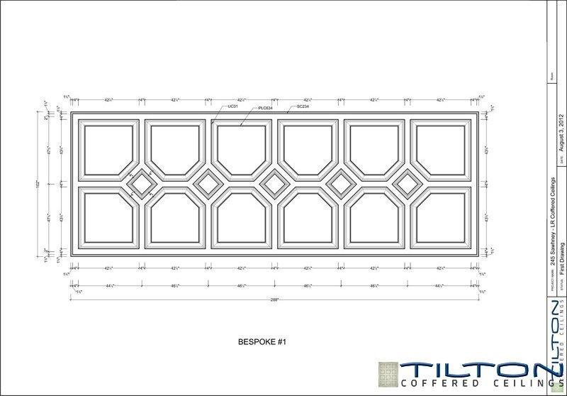 نقشه مناف سقف کلاسیک5