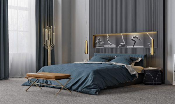 طرح دیوار اتاق خواب4