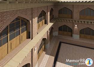 طرح احیاء مسجد جامع آمل