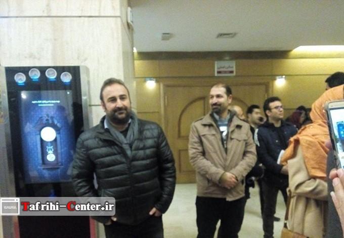 عکس احمد مهران فر در مراسم افتتاحیه 35مین جشنواره فیلم فجر 95 - تفریحی سنترض