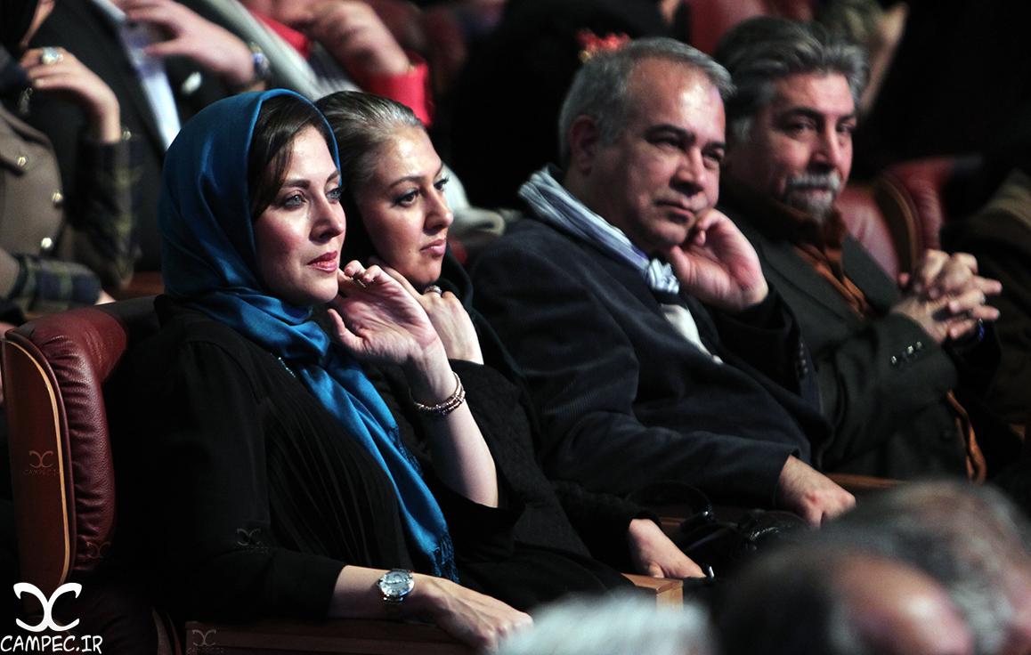 مهتاب کرامتی در افتتاحیه جشنواره 35 فیلم فجر