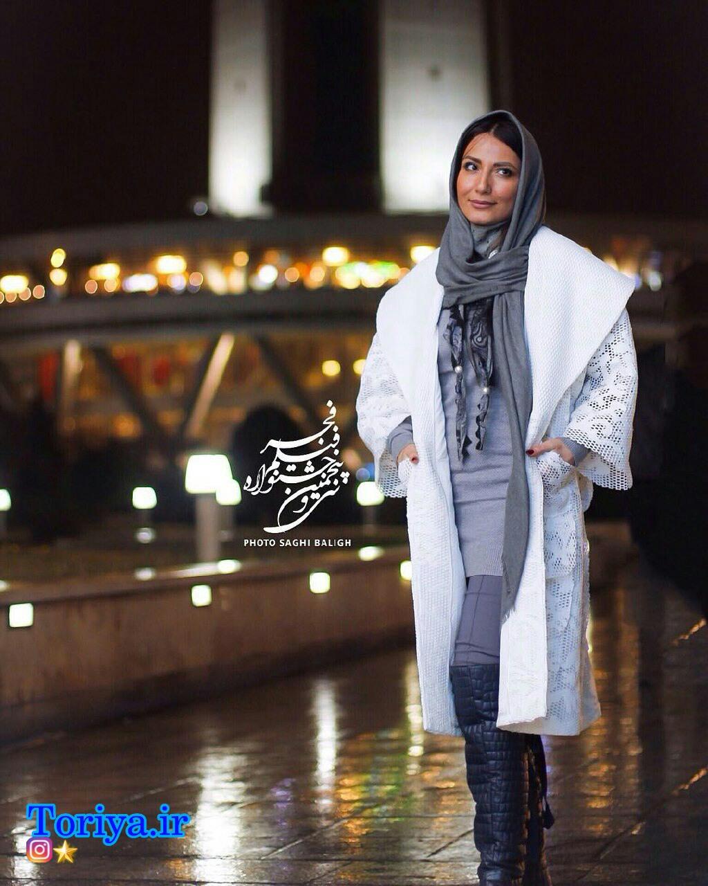عکسهای سمیرا حسن زاده در افتتاحیه سی و پنجمین جشنواره فیلم فجر_فجر 35
