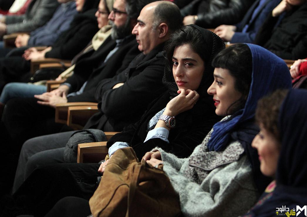 آناهیتا افشار در افتتاحیه جشنواره 35 فیلم فجر