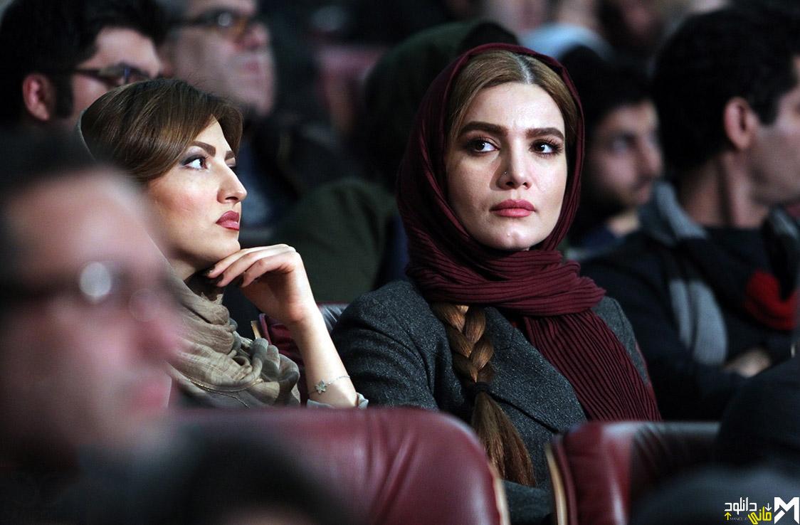 متین ستوده و سمیرا حسینی در افتتاحیه جشنواره 35 فیلم فجر